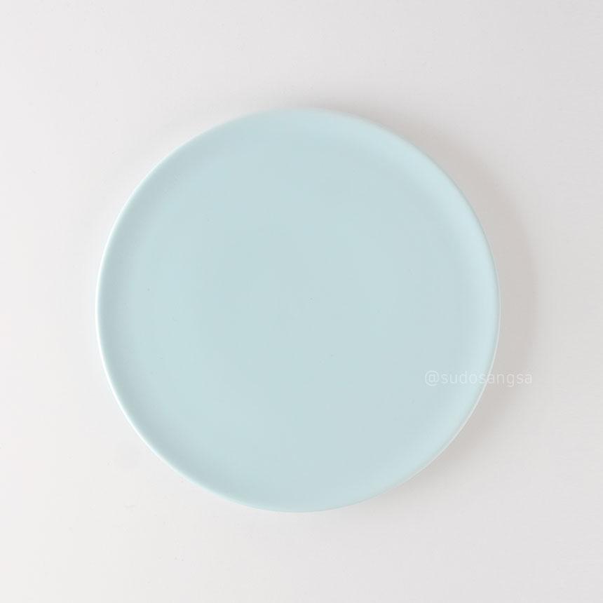 위즈라인 신 원형접시 디저트접시, 플레이팅접시 6인치 민트