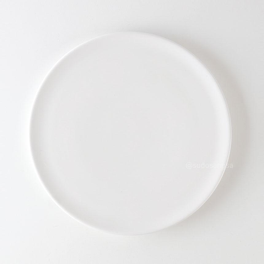 위즈라인 신 원형접시 디저트접시, 플레이팅접시 8인치 화이트