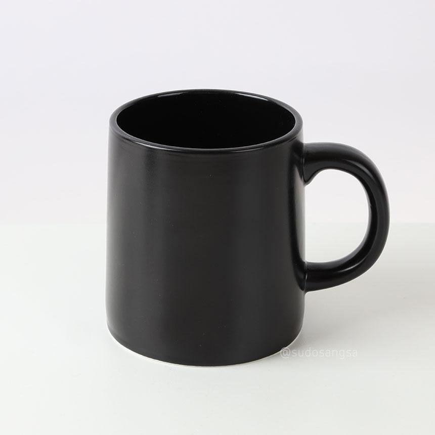 위즈라인 스타머그 머그 360ml 블랙
