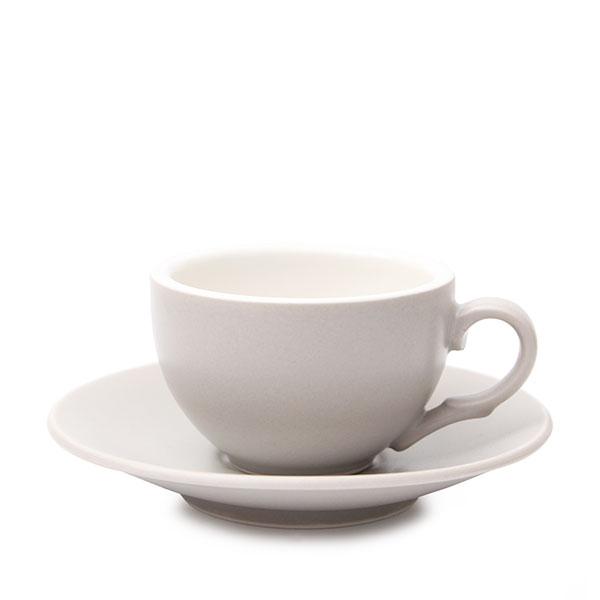 위즈라인 커피잔/에스프레소잔 무광 까페그릇 소 90ml 그레이