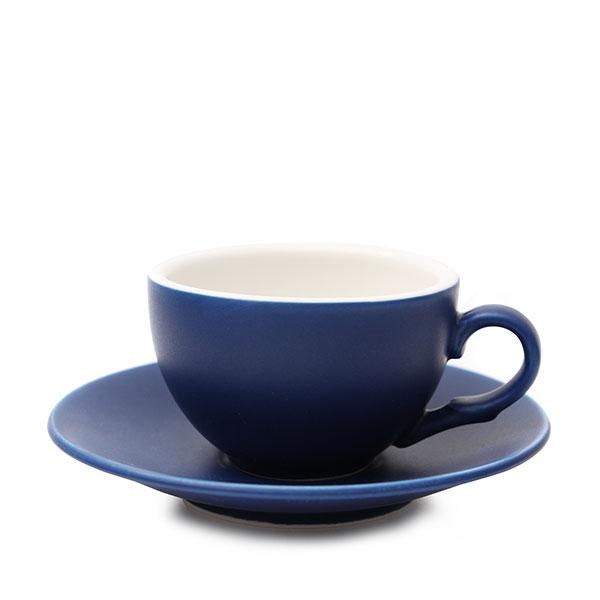위즈라인 커피잔/에스프레소잔 무광 까페그릇 소 90ml 블루
