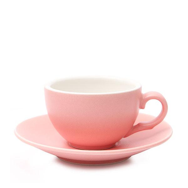 위즈라인 커피잔/에스프레소잔 무광 까페그릇 소 90ml 핑크