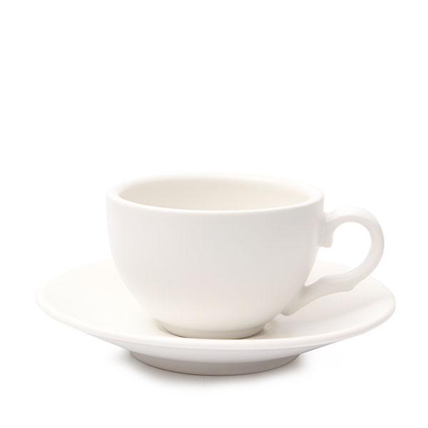 위즈라인 커피잔/에스프레소잔 무광 까페그릇 소 90ml 화이트