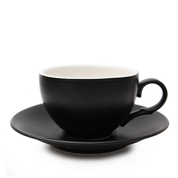 위즈라인 커피잔 무광 중 250ml 블랙