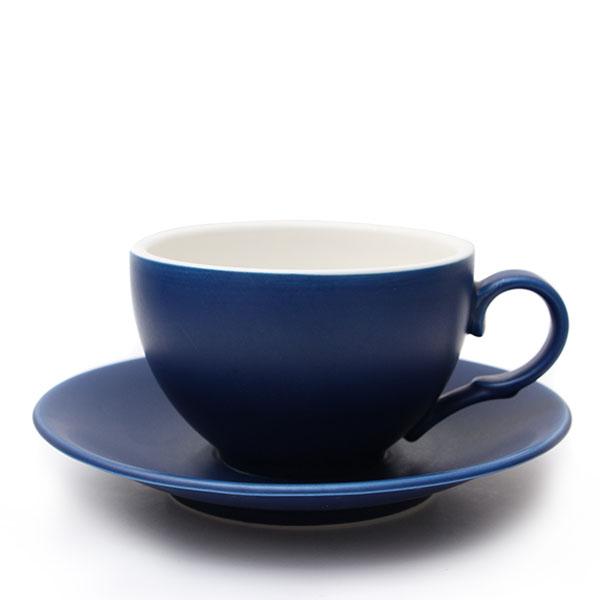 위즈라인 커피잔 무광 중 250ml 네이비