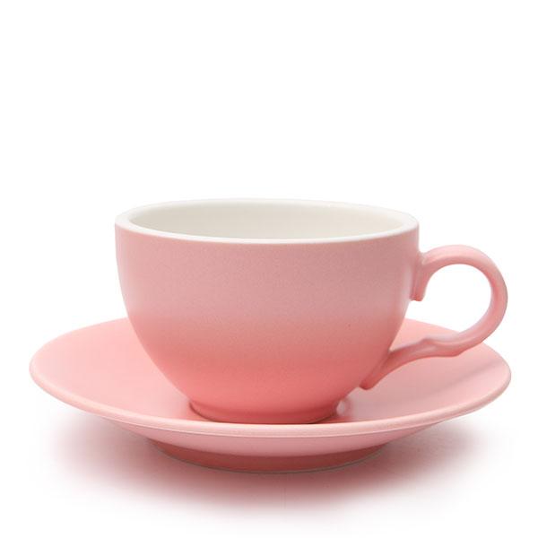 위즈라인 커피잔 무광 중 250ml 핑크