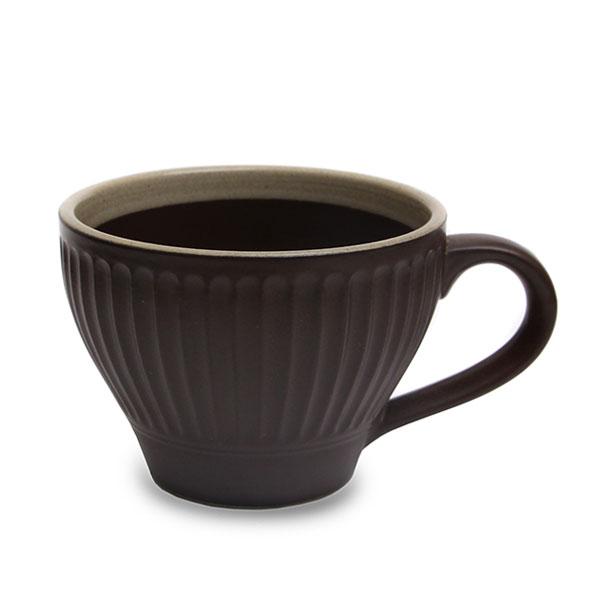 수도상사 튤립 컵 브라운