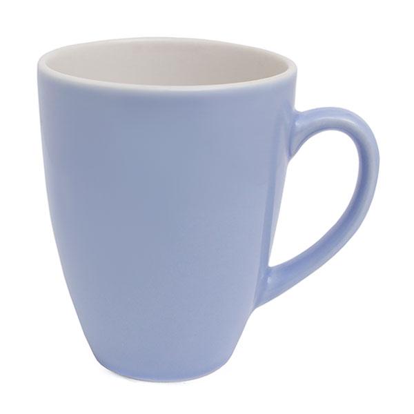 실비아 라떼 머그 무광 400ml 블루 그레이