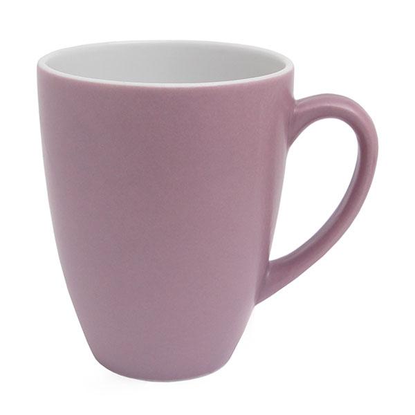 실비아 라떼 머그 무광 400ml 인디 핑크