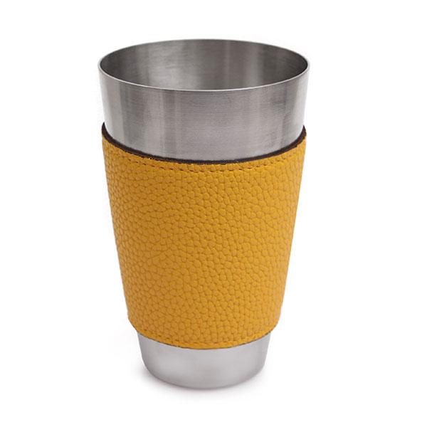킹센스 스테인레스 믹싱 컵 옐로우