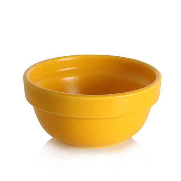 위즈라인 원형 둥근 소스볼 1호 옐로우