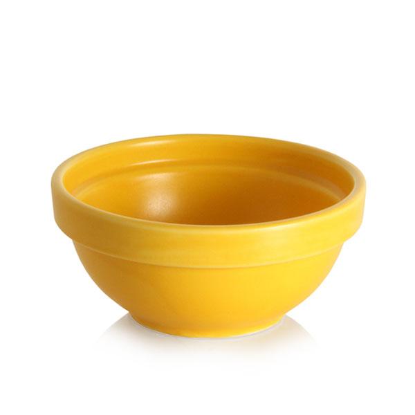 위즈라인 원형 둥근 소스볼 2호 옐로우