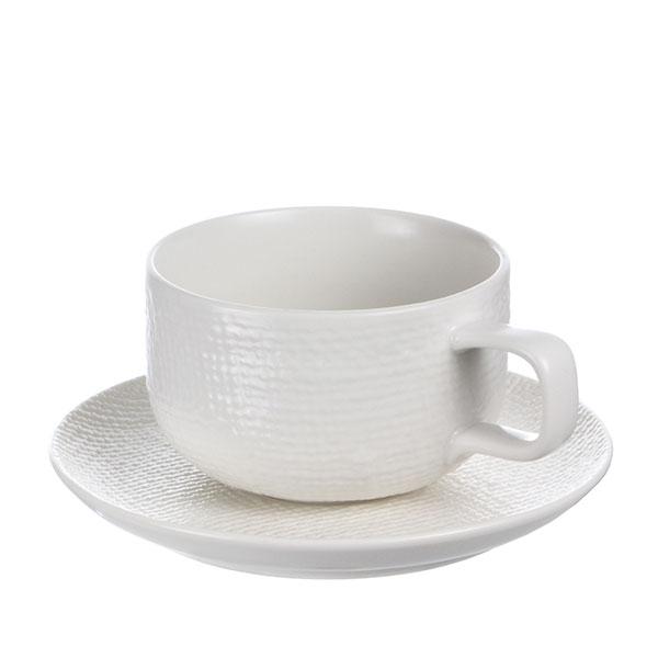 루전 니트 커피잔 166ml 화이트