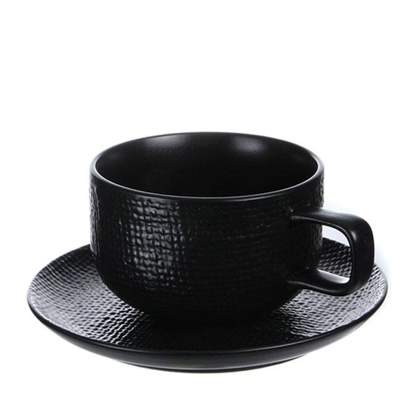 루전 니트 커피잔 166ml 블랙