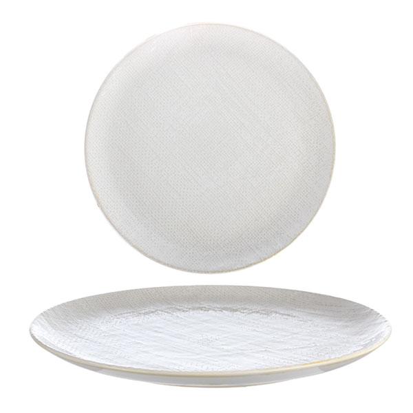 루전 니트 원형 접시 대 아이보리