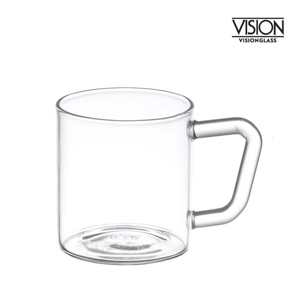 비전글라스 유리 머그컵/오븐,냉동고사용가능 MG-SS 120ml 비전글래스