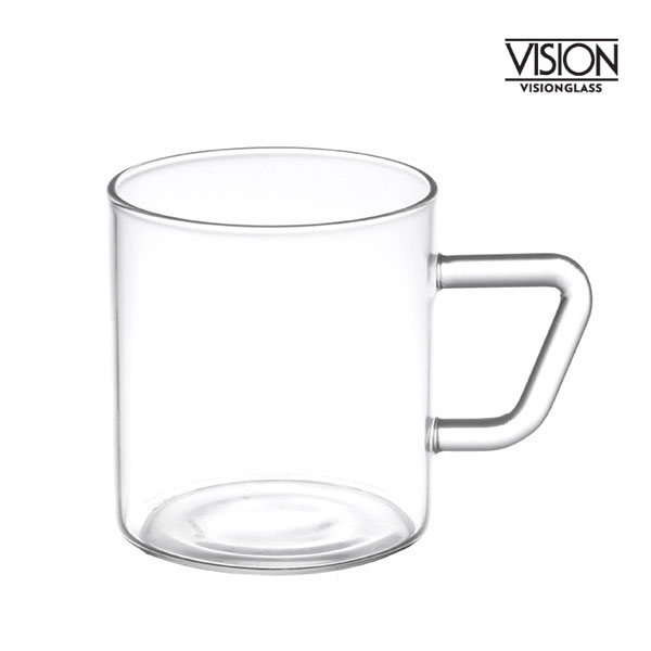 비전글라스 유리 머그컵/오븐,냉동고사용가능 MG-S 195ml 비전글래스