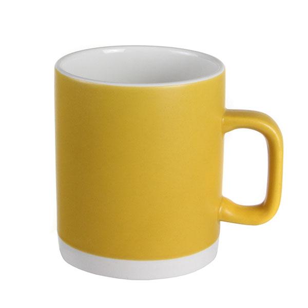 실비아 머그컵 대 옐로우