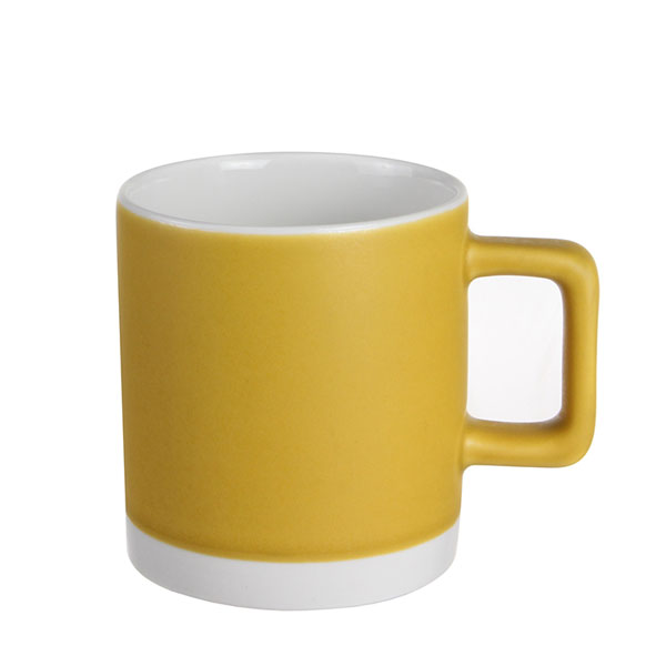 실비아 머그컵 소 330ml 옐로우