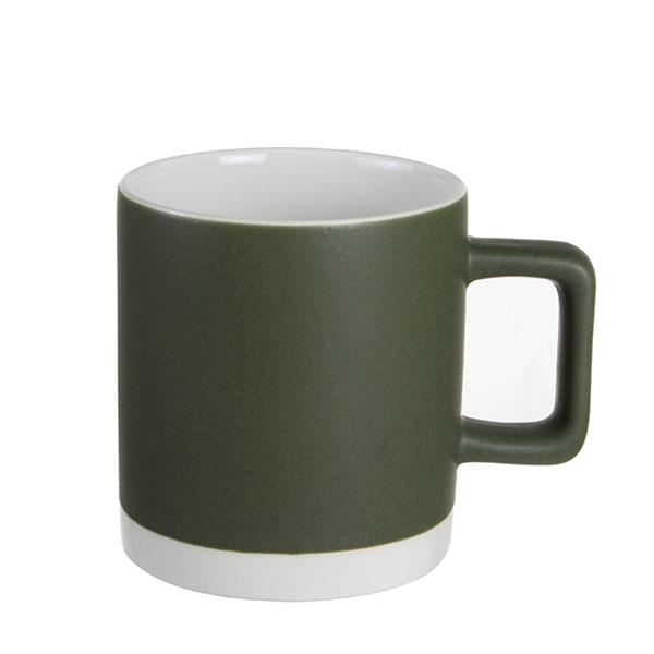 실비아 머그컵 소 330ml 카키