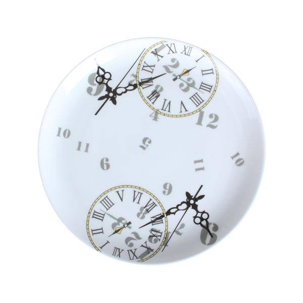 티로직 시계 접시 화이트