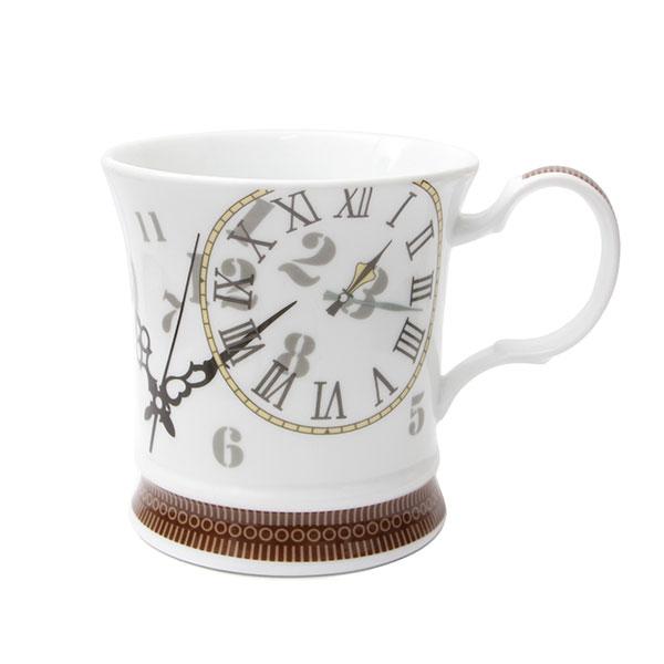 티로직 시계 머그컵 화이트