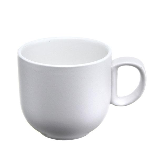위즈라인 쁘띠머그컵 무광 소 320ml 화이트