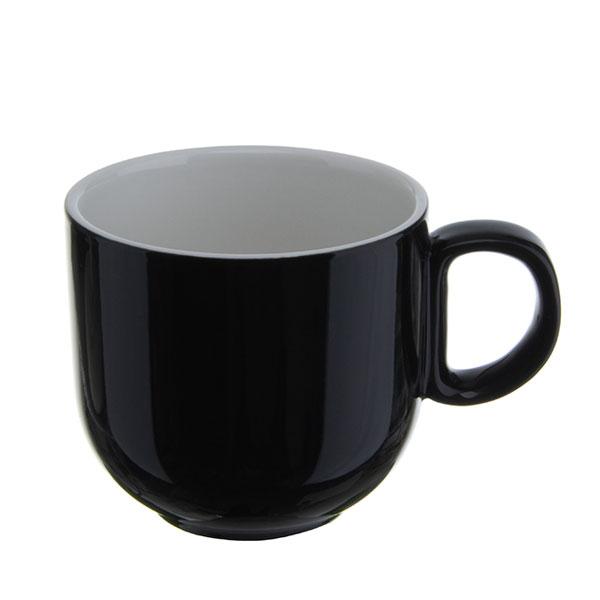 위즈라인 쁘띠머그컵 유광 소 320ml 블랙