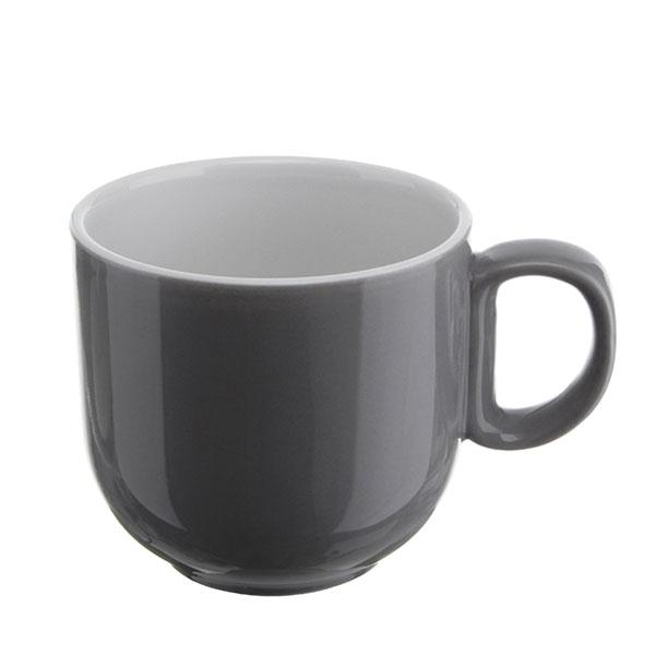 위즈라인 쁘띠머그컵 유광 소 320ml 그레이