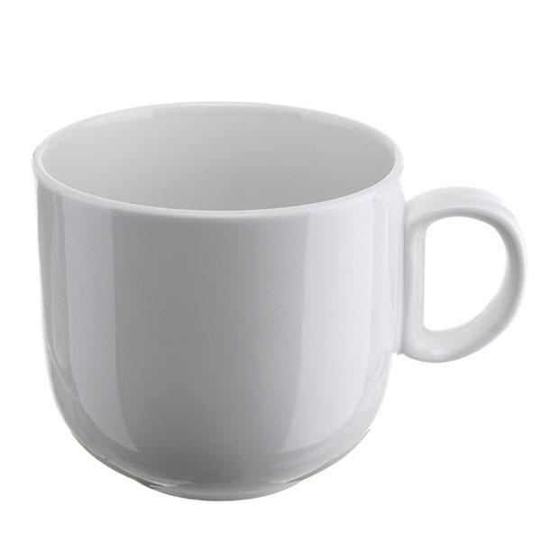 위즈라인 쁘띠머그컵 유광 대 420ml 화이트