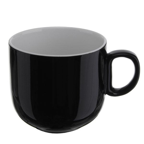 위즈라인 쁘띠머그컵 유광 대 420ml 블랙