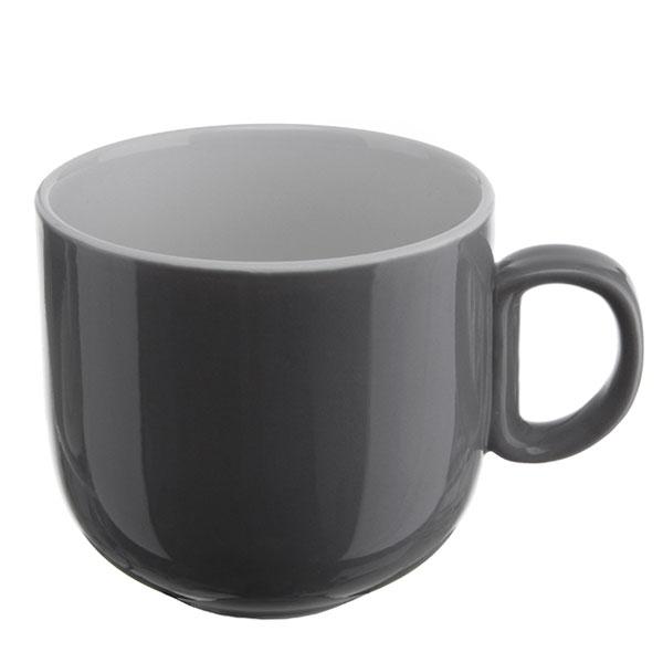 위즈라인 쁘띠머그컵 유광 대 420ml 그레이