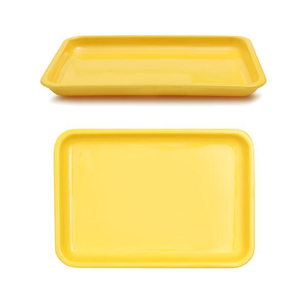 멜라민  낮은 쟁반 4종 [가로:232mm;세로:158mm;높이:20mm] 아기 유아 식판 유치원 어린이집 식판