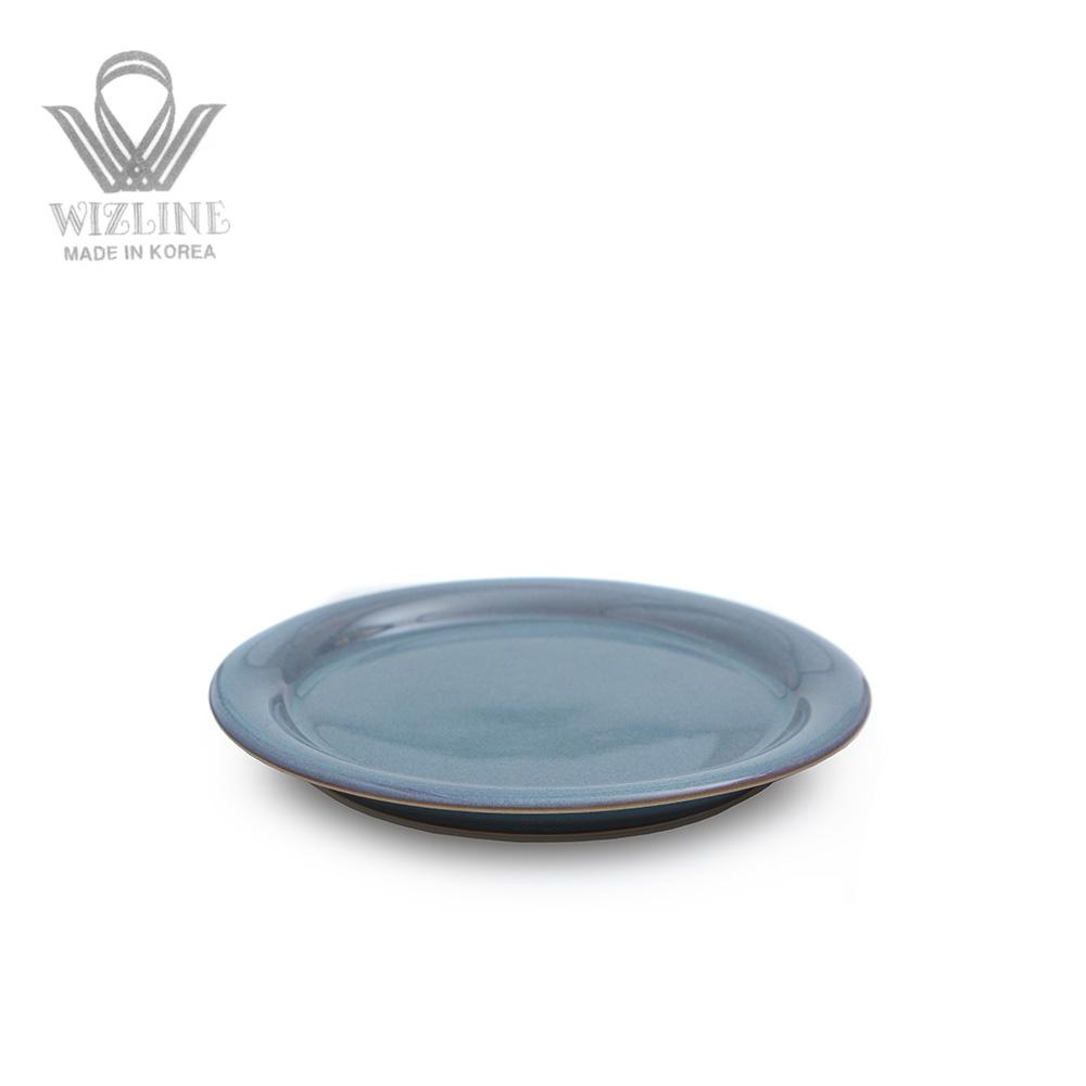 위즈라인 어반 원형접시 6인치 그레이블루
