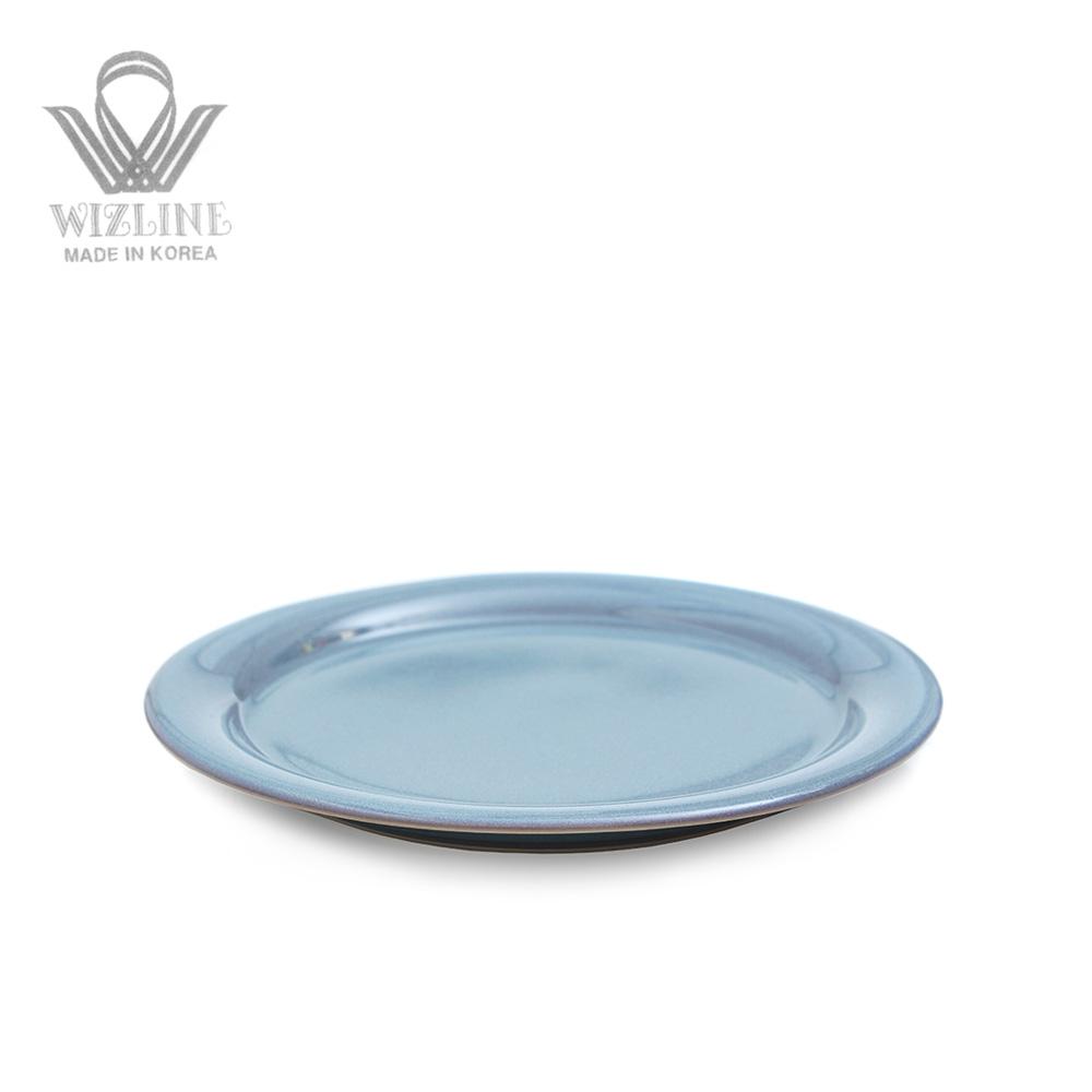 위즈라인 어반 원형접시 8인치 그레이블루