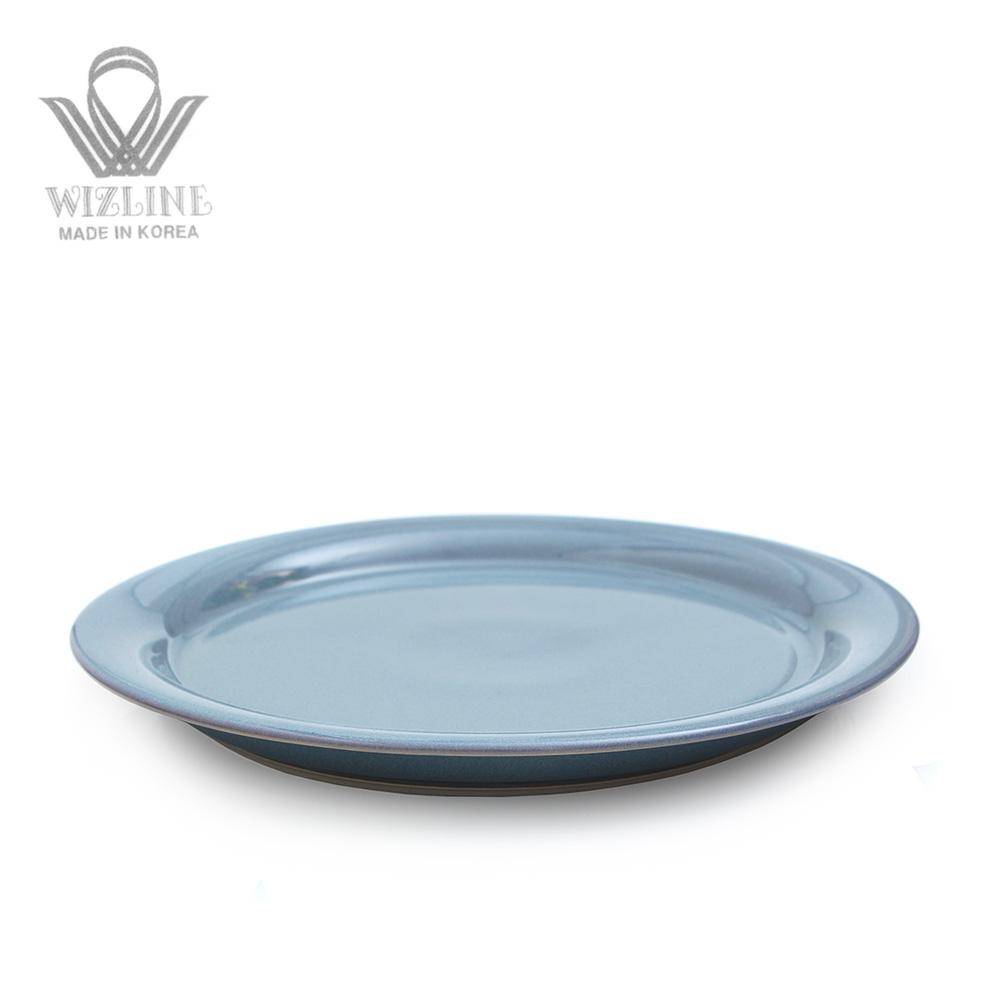 위즈라인 어반 원형접시 10인치 그레이블루