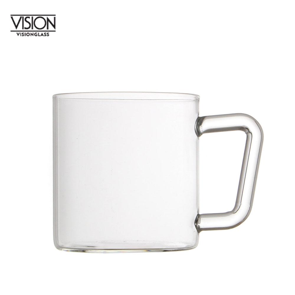 비전글라스 유리 머그컵/오븐,냉동고사용가능 MG W 305ml 비전글래스