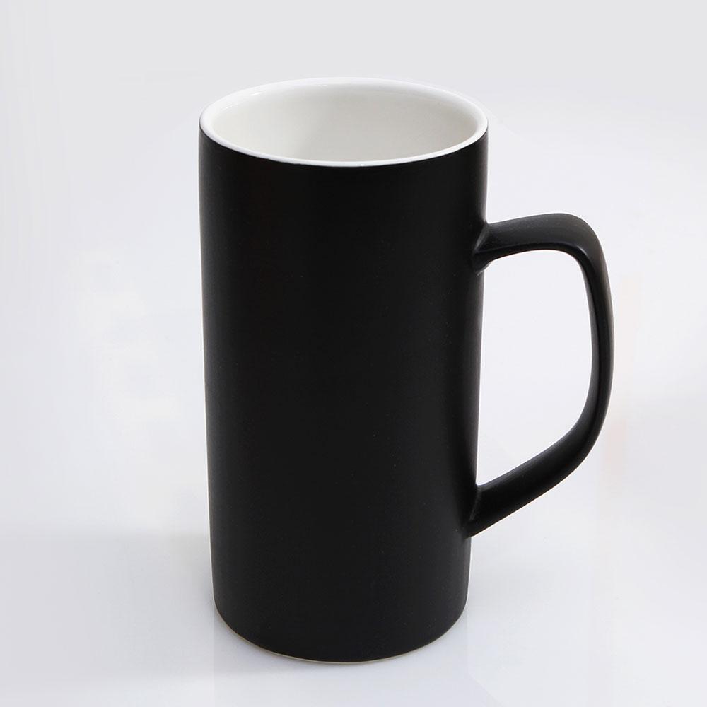 위즈라인 심플한 빅머그 500ml 블랙