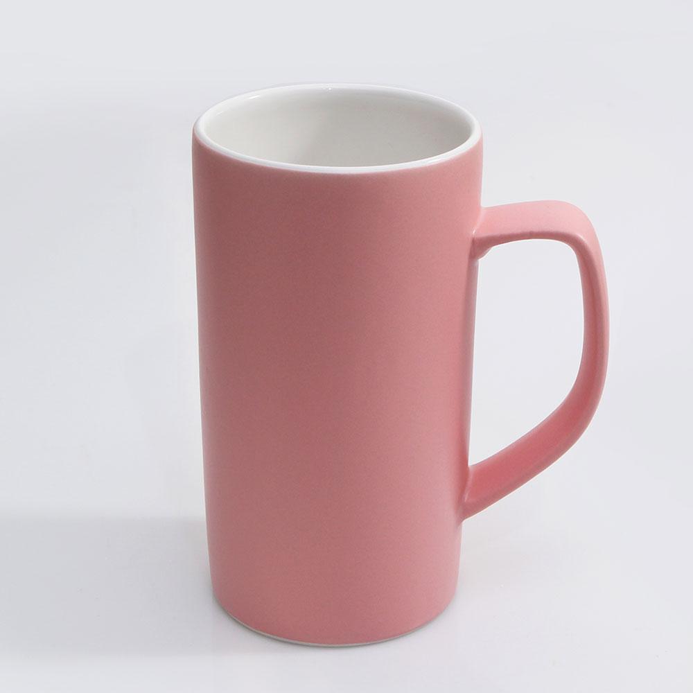 위즈라인 심플한 빅머그 500ml 핑크