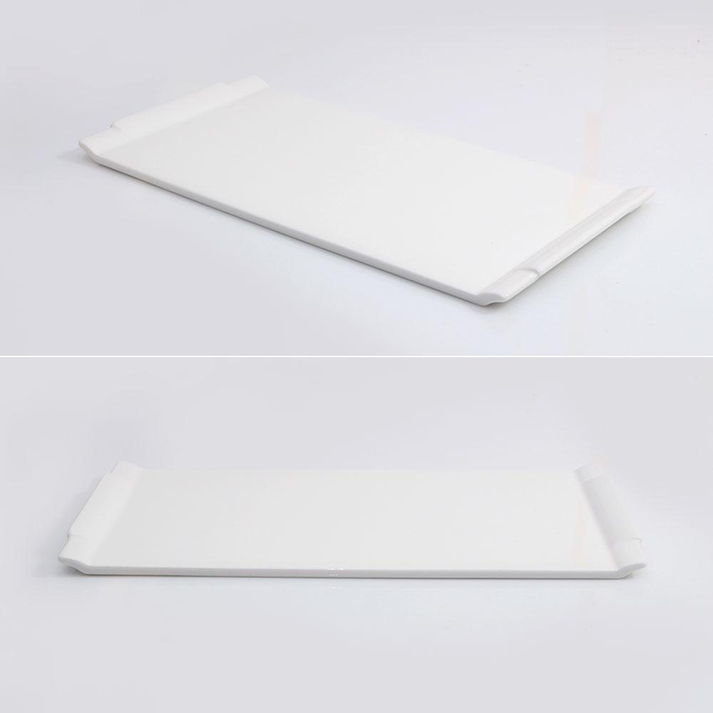 수도상사 플레이팅 직사각 접시 31 화이트