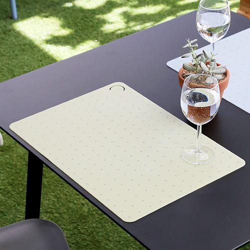 로쏘꼬모 테이블 플레이스매트 도트 그린