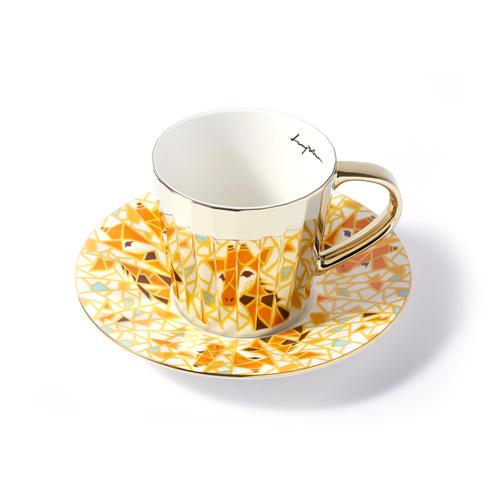 루이초 로스트차일드기린 미러컵+컵받침세트 각형 medium 골드