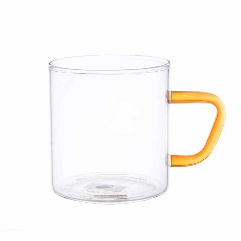 비전글라스 유리 머그컵/오븐,냉동고사용가능 CMG-S YL 195ml 비전글래스