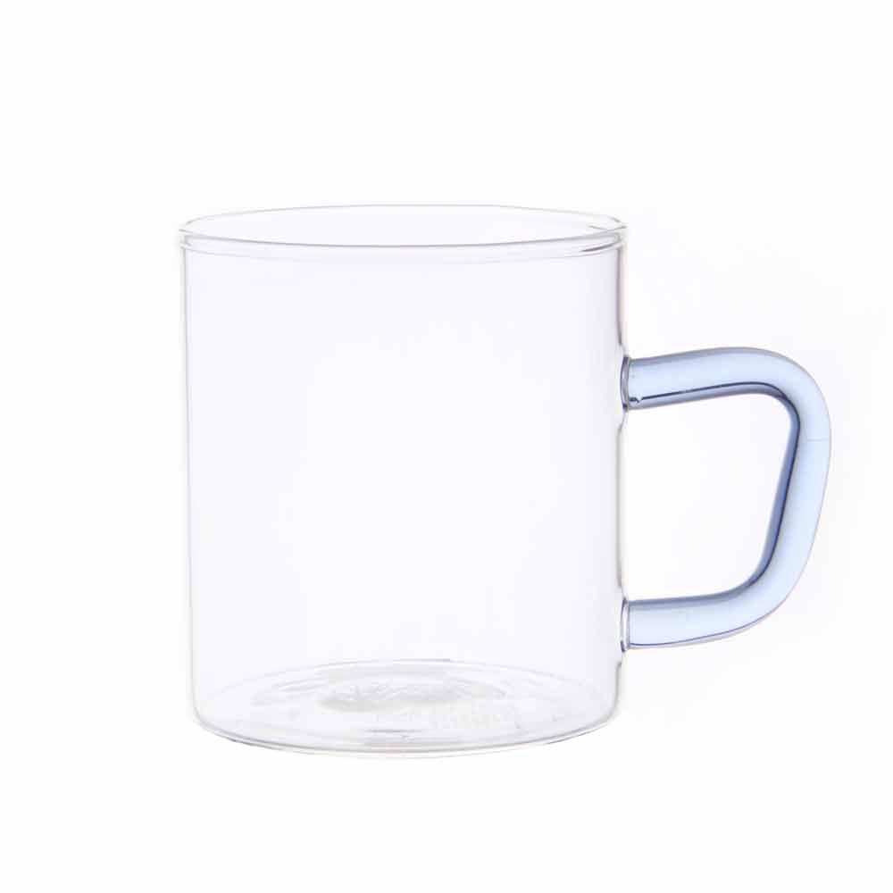 비전글라스 유리 머그컵/오븐,냉동고사용가능 CMG-S BL 195ml 비전글래스