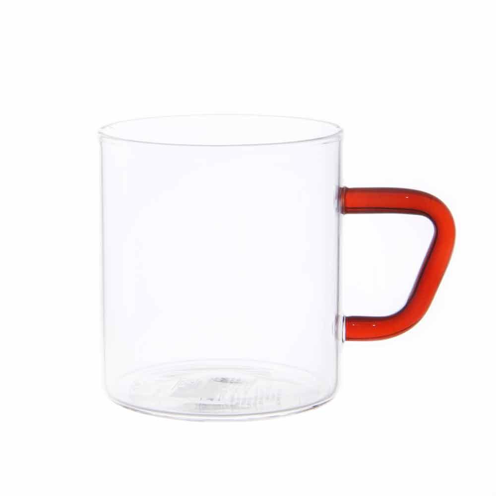 비전글라스 유리 머그컵/오븐,냉동고사용가능 CMG-S BR 195ml 비전글래스