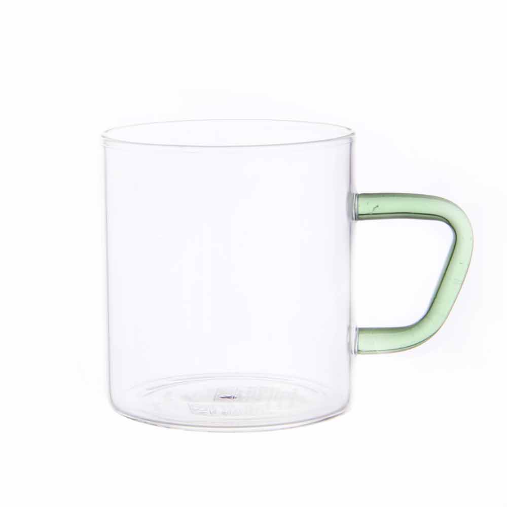 비전글라스 유리 머그컵/오븐,냉동고사용가능 CMG-S GR 195ml 비전글래스